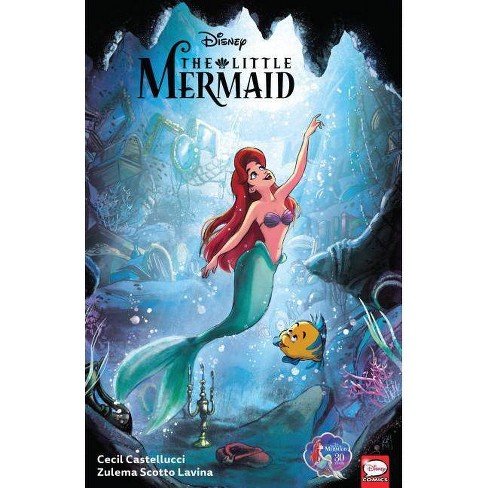 Disney the Little Mermaid - by  Cecil Castellucci (Paperback) - image 1 of 1