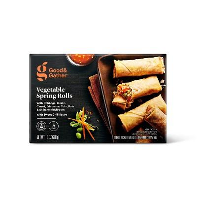Frozen Vegetable Spring Rolls - 10oz/5ct - Good & Gather™