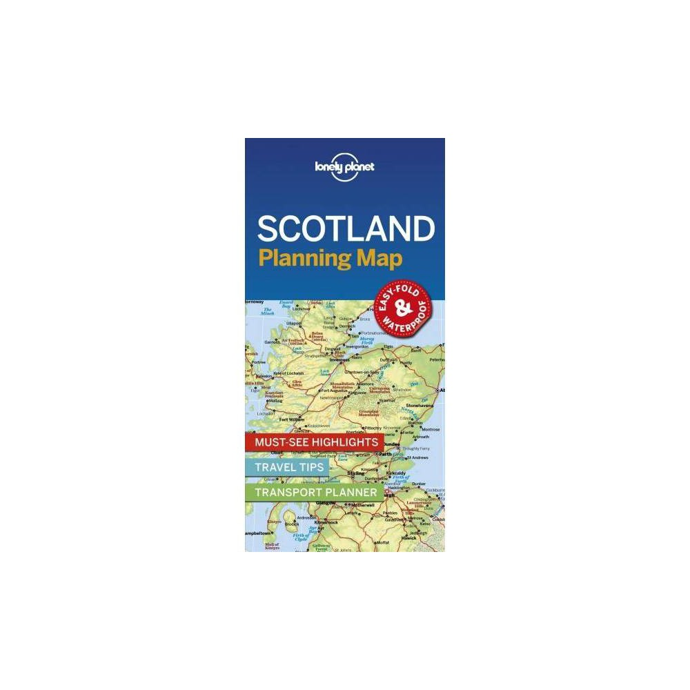 Lonely Planet Scotland Planning Map - Map (Planning Maps) (Paperback)