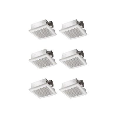 Delta Breez 70 CFM 2.0 Sones Ceiling Mount Bathroom Fan with Humidity Sensor