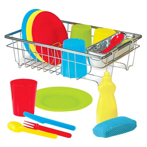 Melissa & Doug® Let's Play House Wash and Dry Dish Set (24pc) - image 1 of 2