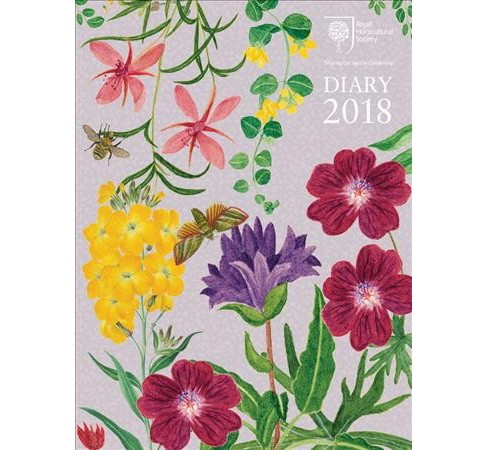 Royal Horticultural Society Desk Diary 2018 (Hardcover) - image 1 of 1