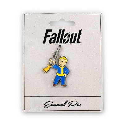 Just Funky Fallout Basher Perk Pin | Official Fallout Video Series Game Small Enamel Pin