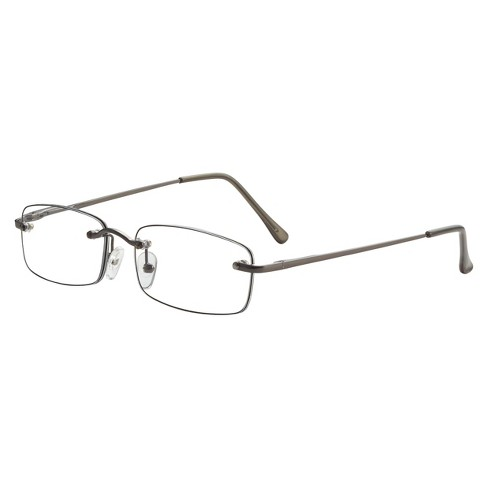 3484f021e82 ICU Plastic Rimless Rectangle Readers With Case. Shop all ICU Eyewear
