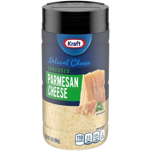 Kraft Shredded Natural Parmesan Shaker - 7oz - image 1 of 4
