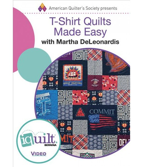 T-Shirt Quilts Made Easy (Hardcover) (Martha Deleonardis) - image 1 of 1