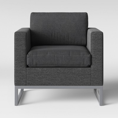 Howell Patio Club Chair Charcoal - Project 62™