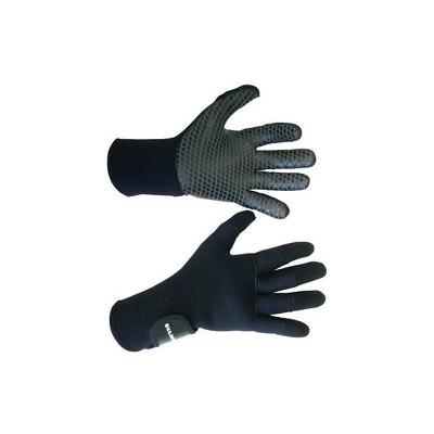 U.S. Divers Small Comfo Grip 3 mm Cold-Water Underwater Diving Neoprene Snorkeling Gloves, Black