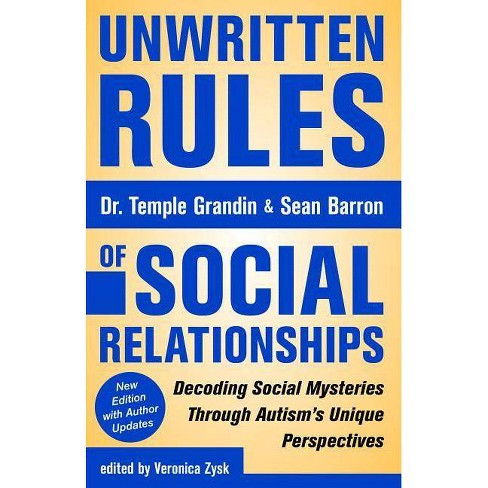 Unwritten Rules of Social Relationships -  2by  Sean Barron (Paperback) - image 1 of 1