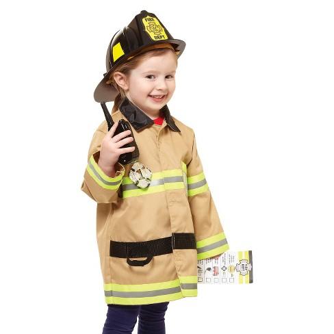3d8b80053cde6 Melissa & Doug® Let's Pretend Firefighter Role Play Set : Target