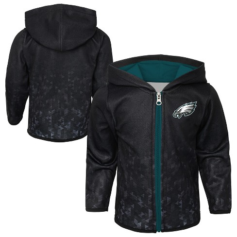 the latest a72f6 7db59 Philadelphia Eagles Toddler Cheer Loud Sublimated Full Zip Hoodie 12 M