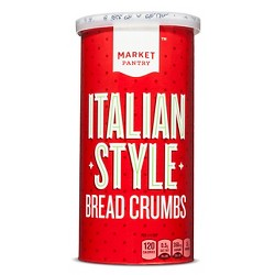 Italian Seasoned Bread Crumbs 15 oz - Market Pantry™