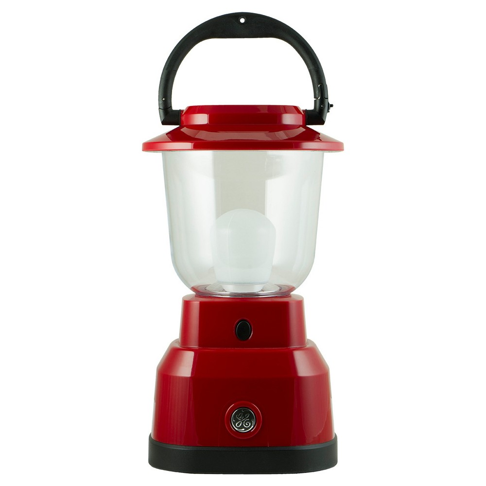 6D 11.2 Led Outdoor Lantern With Usb Charging - Red - Enbrighten, Brushed Nickel