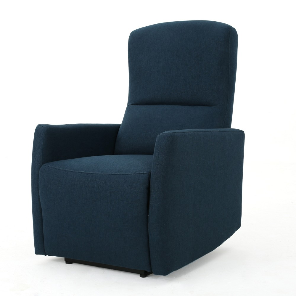 Birdie Traditional Power Recliner Navy Blue - Christopher Knight Home