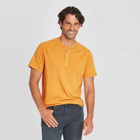 Men's Standard Fit Short Sleeve Henley T-Shirt - Goodfellow & Co™ - image 1 of 3