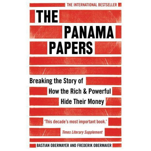 The Panama Papers - by  Bastian Obermayer & Frederik Obermaier (Paperback) - image 1 of 1