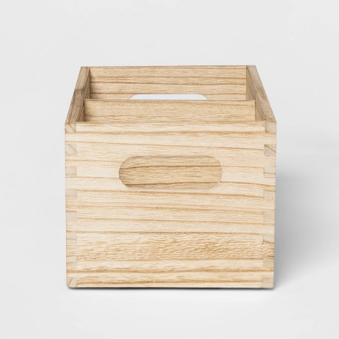 Small Wood Divided Storage - Pillowfort™ - image 1 of 4