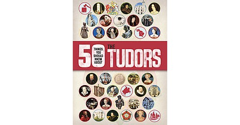 50 Things You Should Know About the Tudors (Paperback) (Rupert Matthews) - image 1 of 1