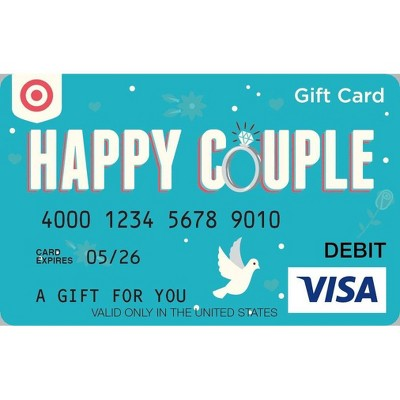 Visa Wedding eGift Card - $50 + $5 Purchase Fee (Email Delivery)
