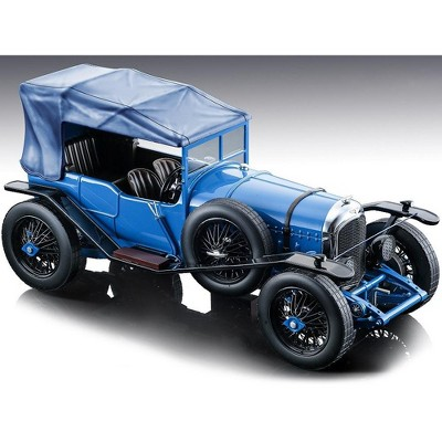 """1924 Bentley 3L Gloss Blue Street Version """"Mythos Series"""" Limited Edition to 60 pieces Worldwide 1/18 Model Car by Tecnomodel"""