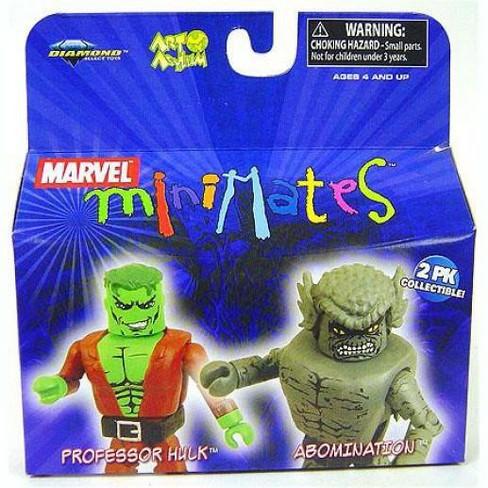 Marvel Minimates Series 20 Professor Hulk and Abomination Minifigure 2-Pack - image 1 of 1