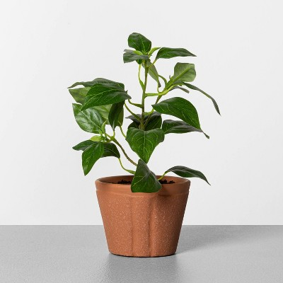 "8"" Faux Pepper Potted Plant - Hearth & Hand™ with Magnolia"