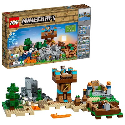 LEGO Minecraft The Crafting Box 2.0 with Steve and Creeper 21135