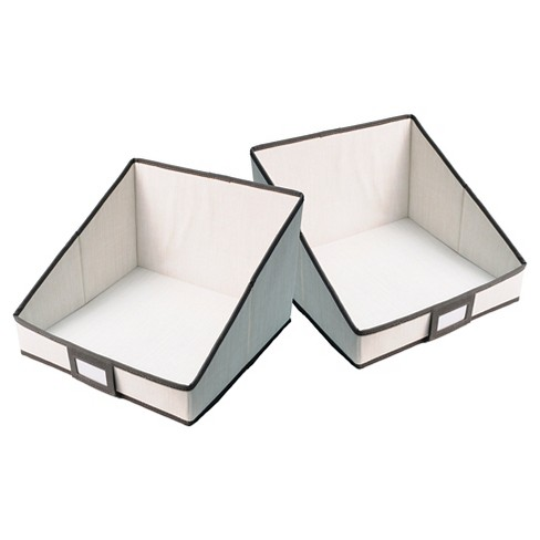 2pk Open Drawers for Hanging Closet Organizer - Threshold™ - image 1 of 1
