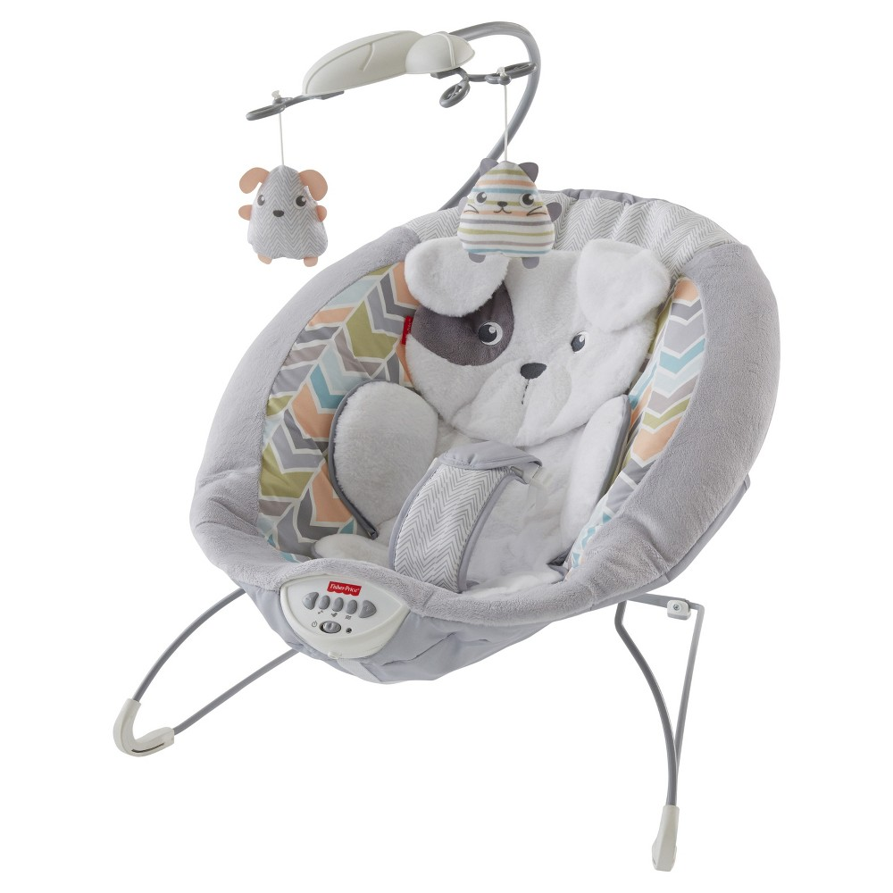 Image of Fisher-Price Sweet Snugapuppy Dreams Deluxe Bouncer