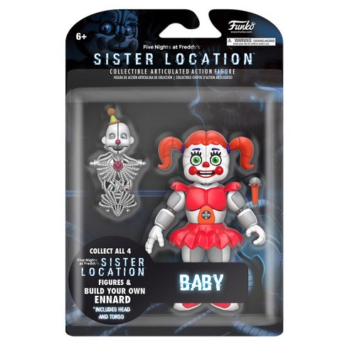 Funko Five Nights at Freddy's: Sister Location - Baby Articulated Action  Figure 5