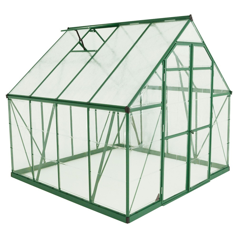 8' x 12'Balance Hobby Greenhouse - Green - Palram