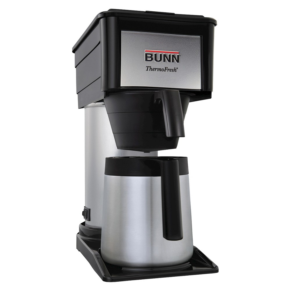 Bunn BT Velocity Brew 10-Cup Thermal Coffee Brewer, Black 10300175