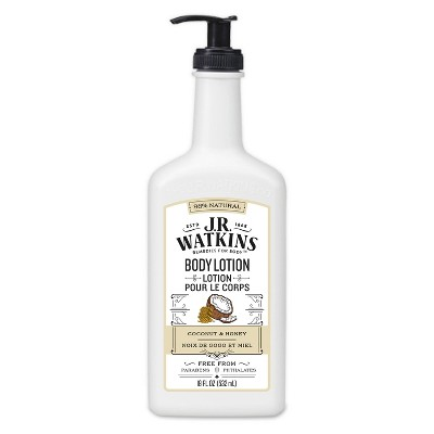 JR Watkins Moisturizing Lotion-Coconut Milk and Honey - 18oz