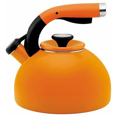 Circulon 2 Qt. Morning Bird Teakettle Orange