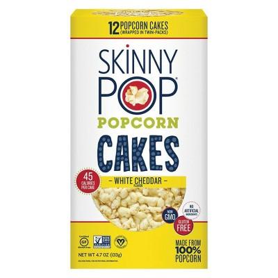 Popped Popcorn: SkinnyPop Large Popcorn Cakes