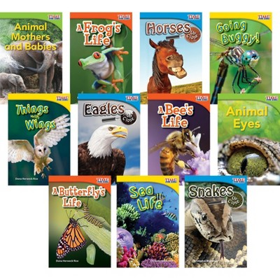 Teacher Created Materials TIME FOR KIDS Animals and Insects Set, Grades 1 to 2, set of 11