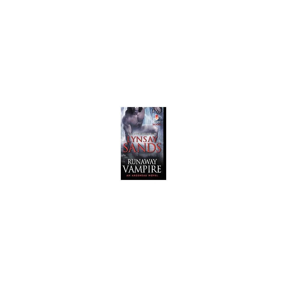 Runaway Vampire (Argeneau Vampires) (Paperback) by Lynsay Sands