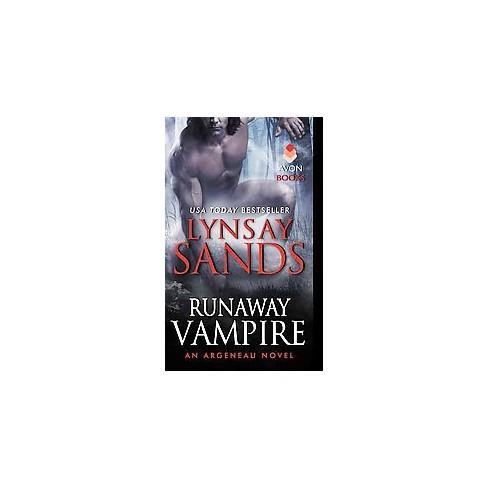 Runaway Vampire Argeneau Vampires Paperback By Lynsay Sands Target
