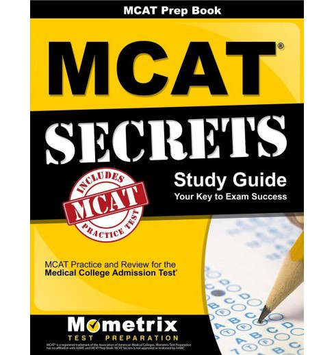 Mcat Prep Book : Mcat Secrets Study Guide: Mcat Practice and Review for the Medical College Admission - image 1 of 1