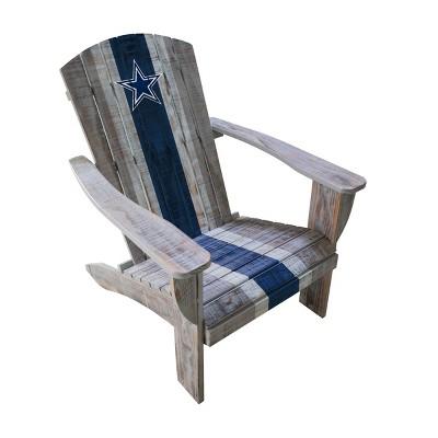 NFL Dallas Cowboys Wooden Adirondack Chair