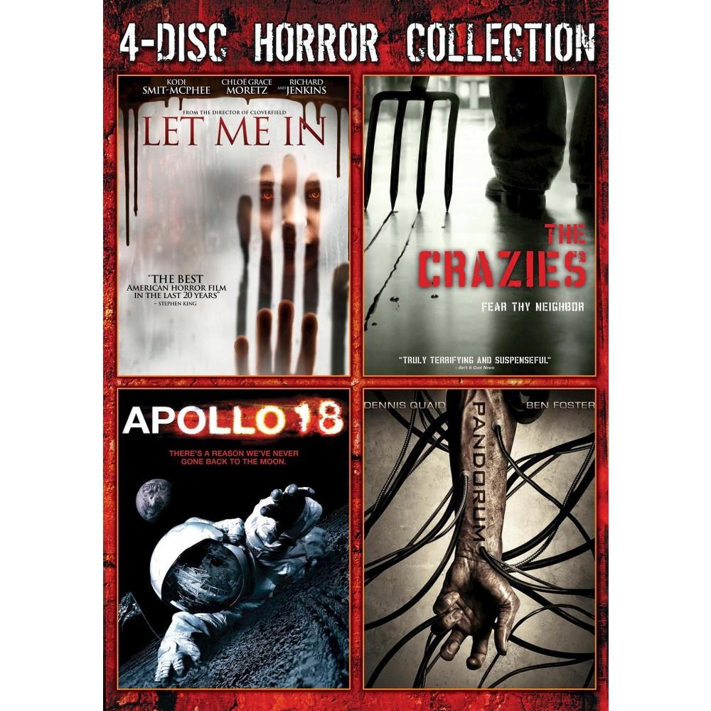 Pandorum/Let Me In/Apollo 18/Crazies (Dvd)