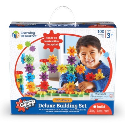 Learning Resources Gears! Gears! Gears! Deluxe Building Set - 100pc