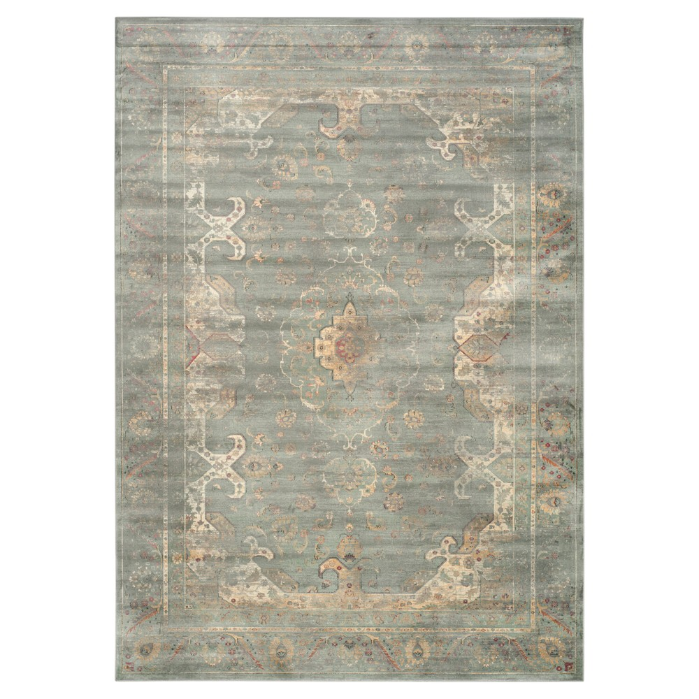 Alessandra Vintage Area Rug - Gray / Multi (8'10