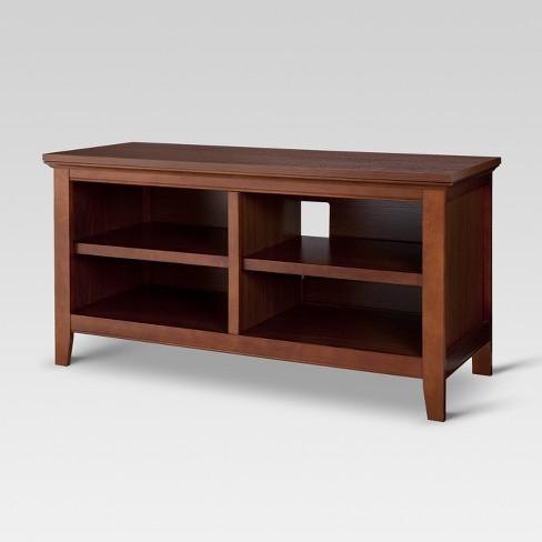 "43"" Carson TV Stand Midtone Cherry - Threshold™ - image 1 of 3"