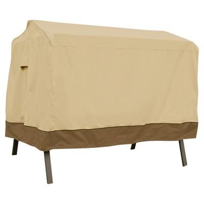 "Veranda Patio Canopy Swing Cover - 78"" x 60"" x 72"" - Light Pebble - Classic Accessories"