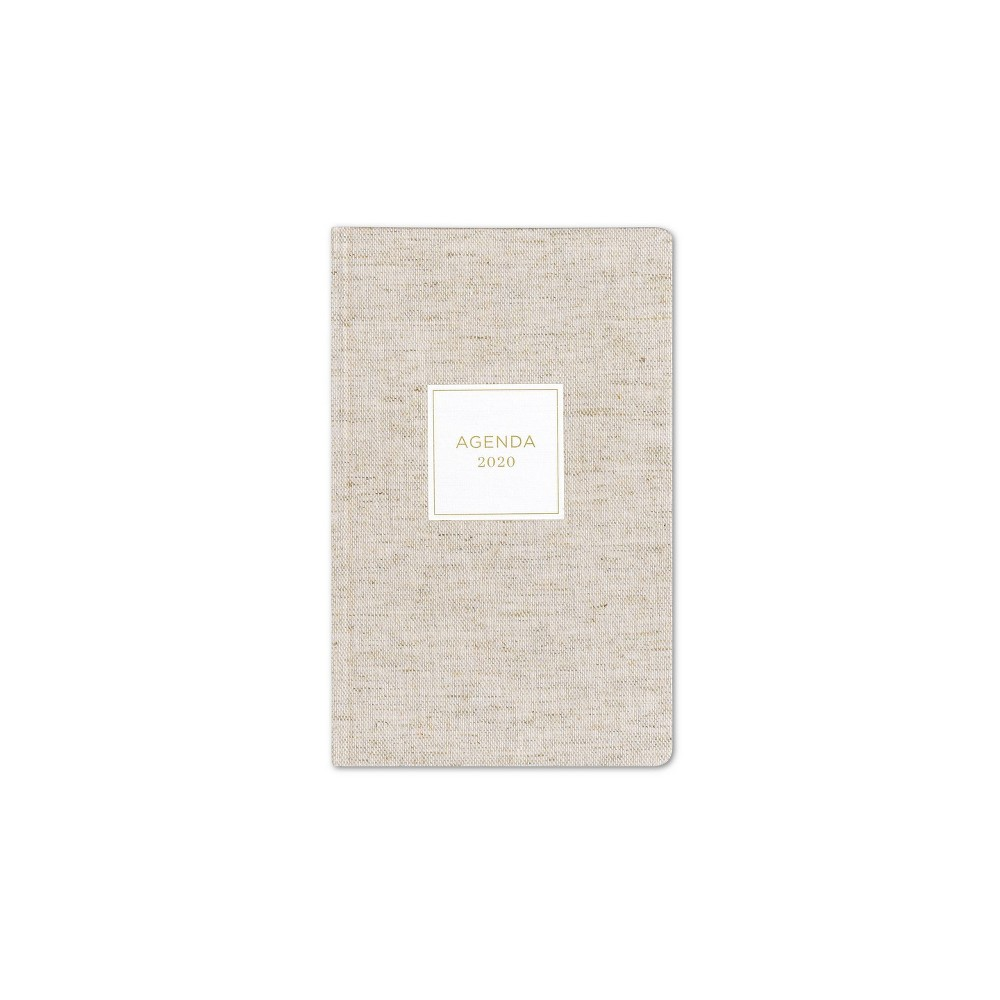 "Image of ""2020 Planner 5""""x 8"""" Beige - cupcakes and cashmere for Blue Sky"""
