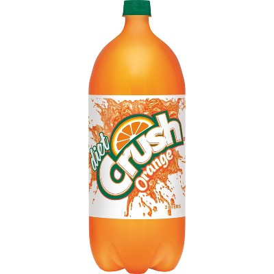 Diet Crush Orange Soda - 2 L Bottle