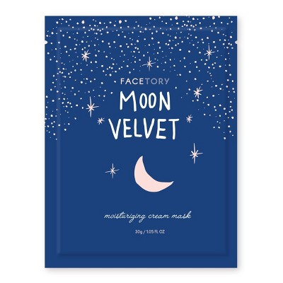 Facetory Moon Velvet Moisturizing Cream Mask - 1.05 fl oz