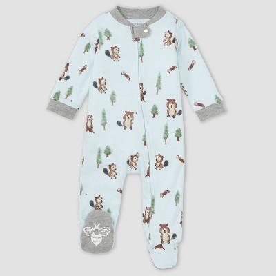 Burt's Bees Baby® Baby Boys' 'Busy Little Beaver' Sleep & Play - Gray 0-3M