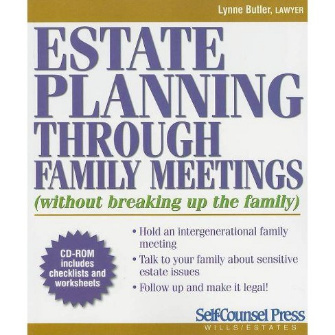 Estate Planning Through Family Meetings - (Self-Counsel Press Wills/Estates) by  Lynn Butler - image 1 of 1